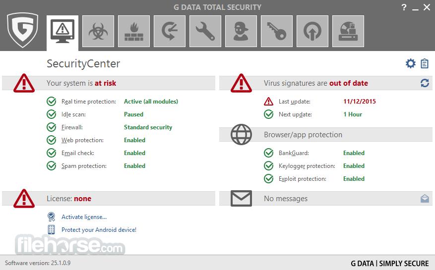 G DATA Total Security 25.4.0.3 Captura de Pantalla 1