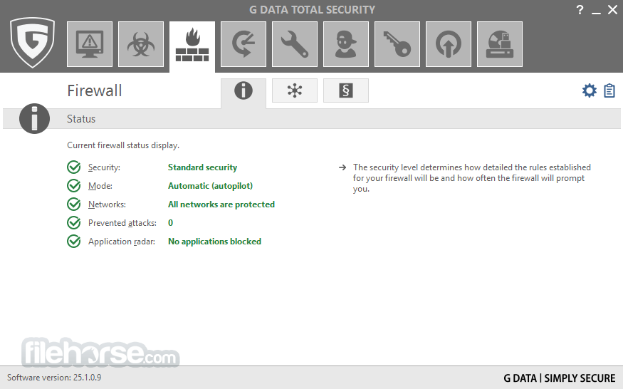 G DATA Total Security 25.4.0.2 Screenshot 3