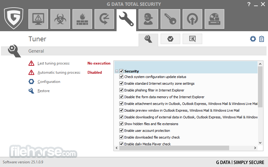 G DATA Total Security 25.4.0.3 Captura de Pantalla 4