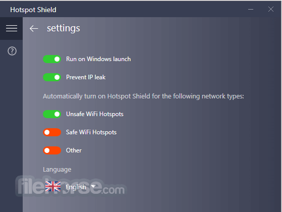 Hotspot Shield 7.9.0 Screenshot 2