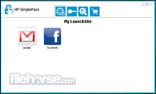 HP SimplePass 8.01.46 Screenshot 2