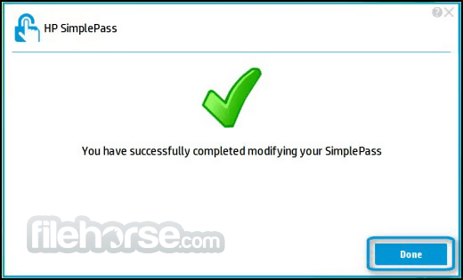 HP SimplePass 8 00 57 Download for Windows 10, 8, 7
