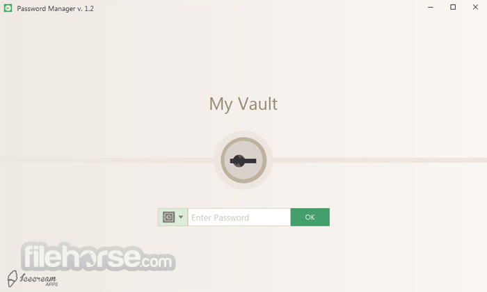 Icecream Password Manager 1.16 Screenshot 1