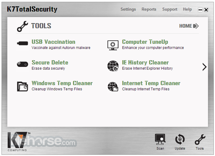 K7 TotalSecurity 15.1.0323 Screenshot 4
