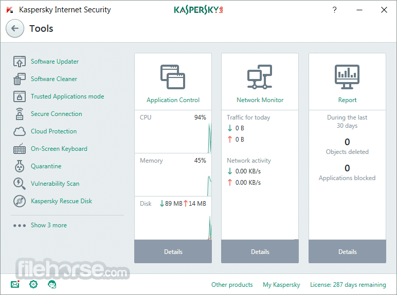 Kaspersky Internet Security 2018 18.0.0.405 Captura de Pantalla 2