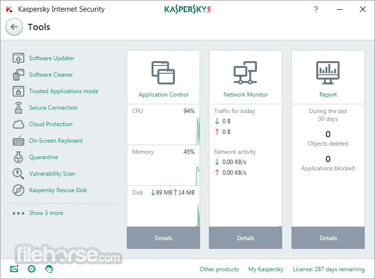 Kaspersky Internet Security 2018 18.0.0.405 Screenshot 2