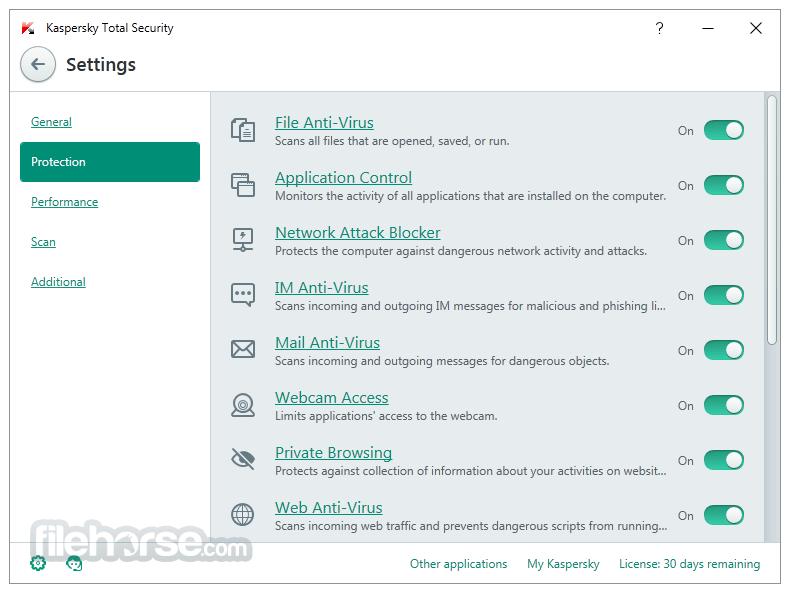 Kaspersky Total Security 18.0.0.405 Screenshot 4