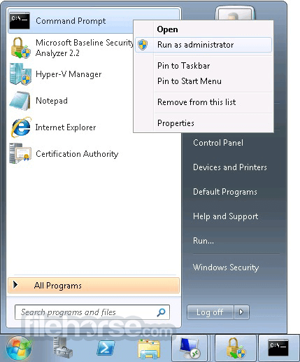 Microsoft Baseline Security Analyzer 2.3 (64-bit) Captura de Pantalla 3