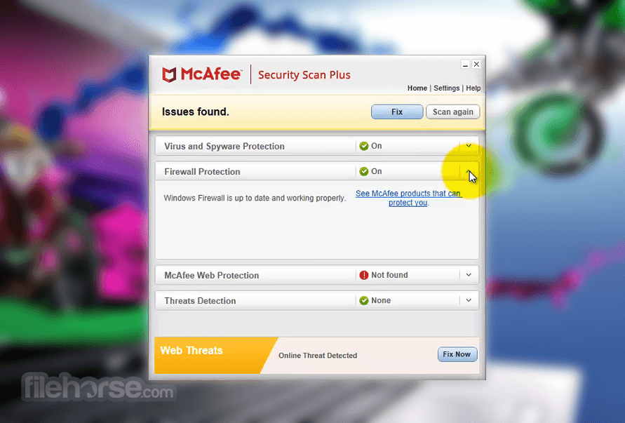 mcafee latest update free download for windows xp