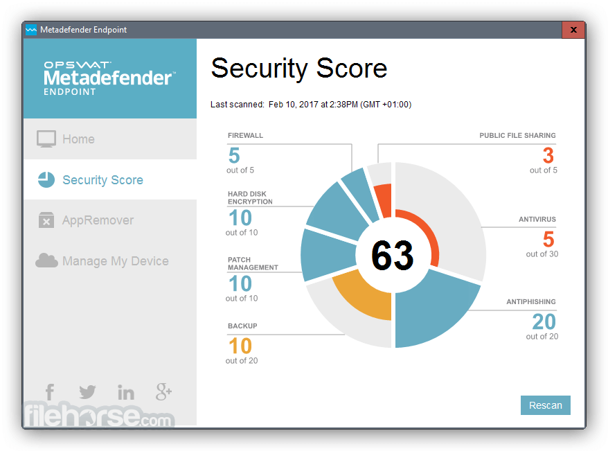 Metadefender Endpoint 7.6.51.0 Screenshot 1