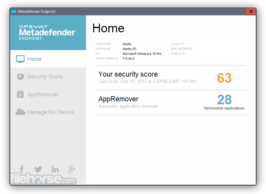 Metadefender Endpoint 7.6.51.0 Screenshot 3