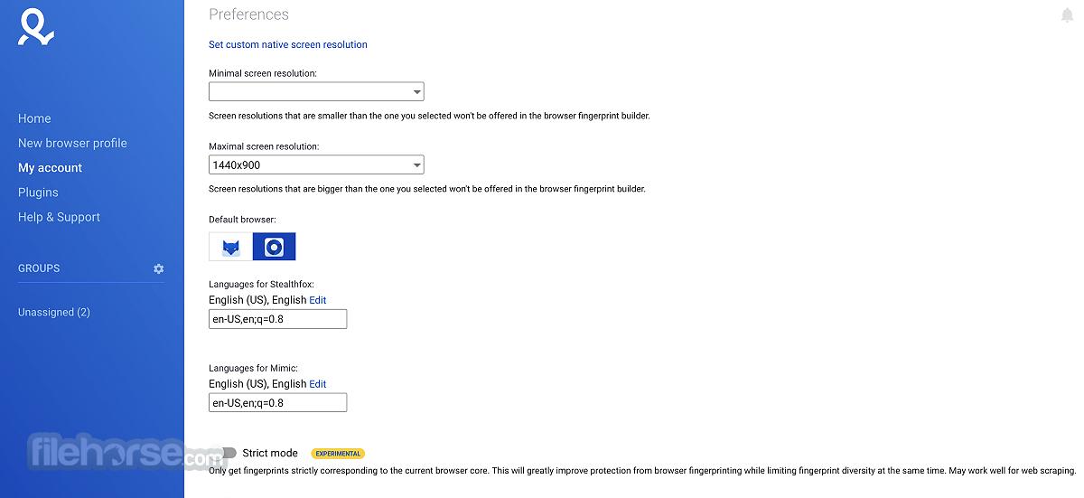 Multilogin 4.5.3 Screenshot 4