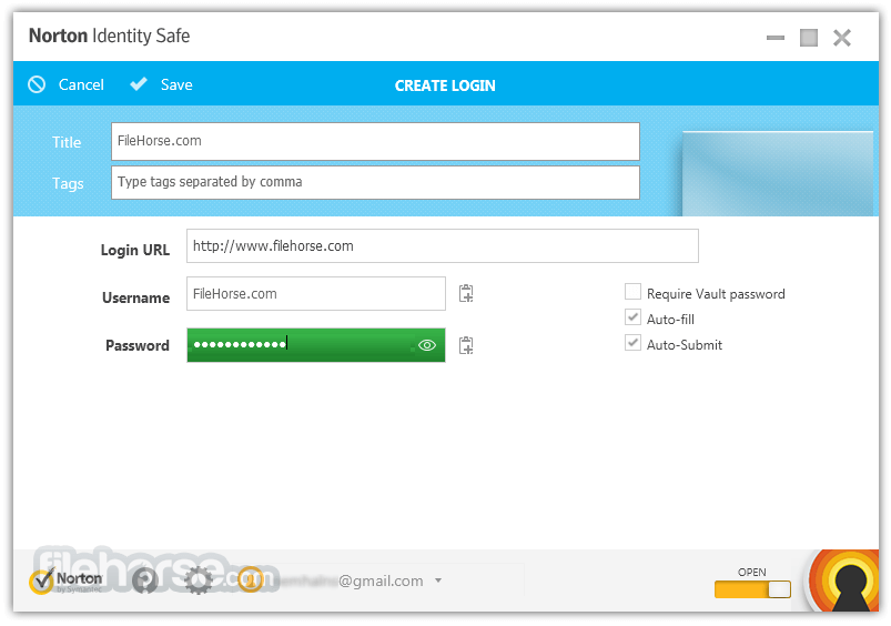 Norton Identity Safe 2014 7.11.42 Screenshot 4