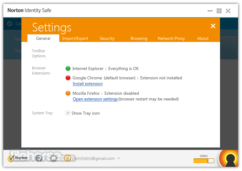 Norton Identity Safe 2014 7.11.42 Screenshot 5