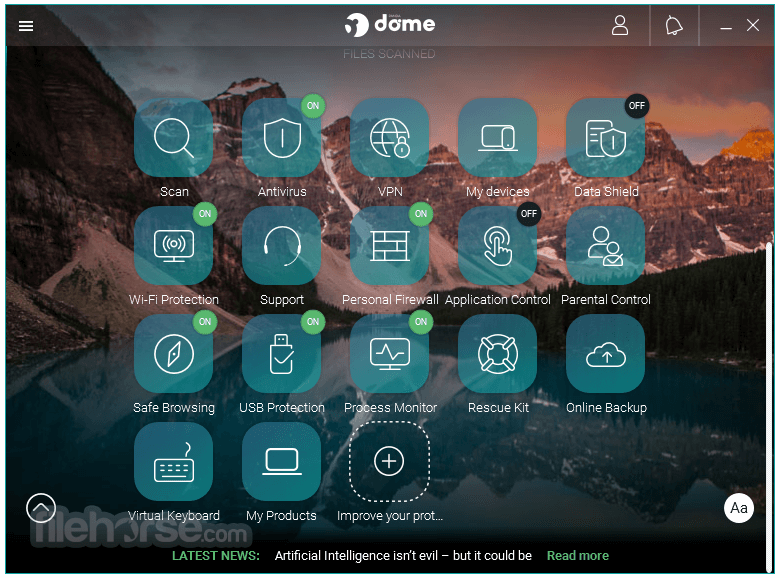 Panda Dome Advanced 18.05.00 Screenshot 2