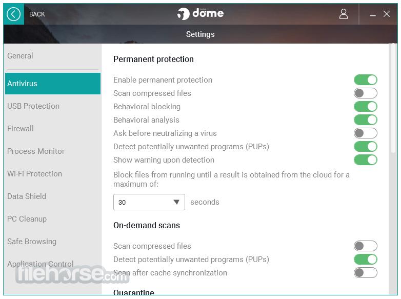 Panda Dome Premium 18.06.00 Screenshot 5