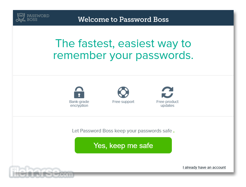 Password Boss 3.1.3562.0 Screenshot 1