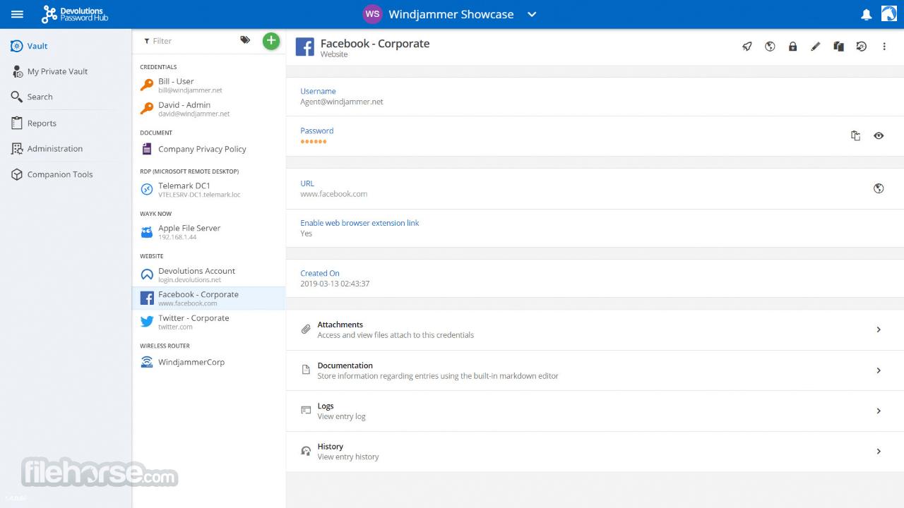 Password Hub 2019.2.3.0 Screenshot 1