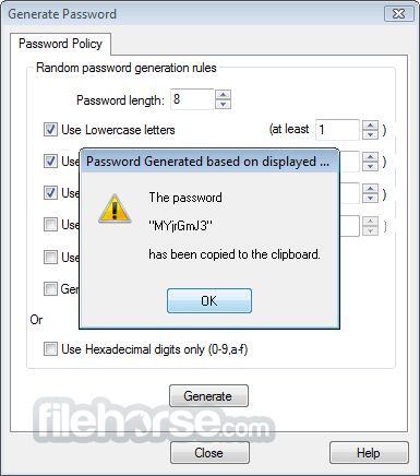 Password Safe 3.55.0 Screenshot 4