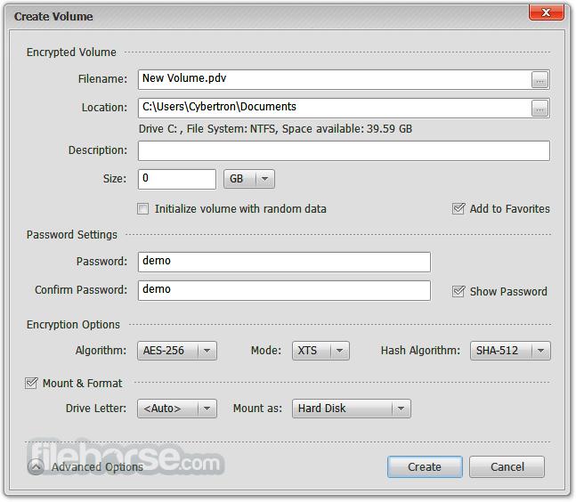 Privacy Drive 3.11.0 Build 1287 Screenshot 2