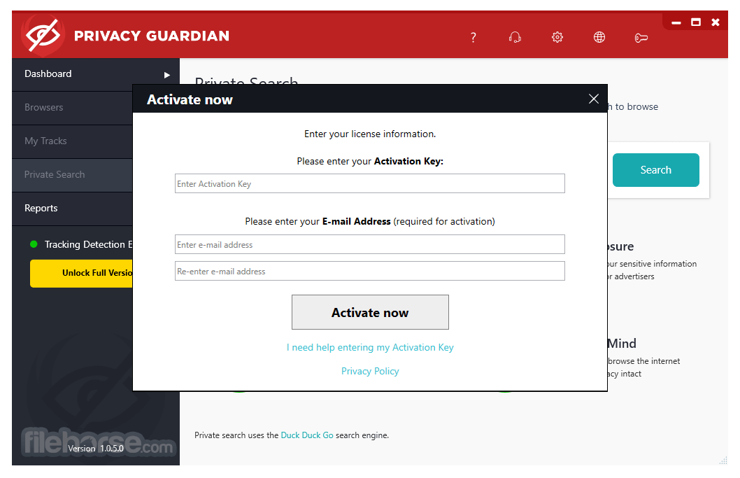 Privacy Guardian 1.0.8.2 Screenshot 5