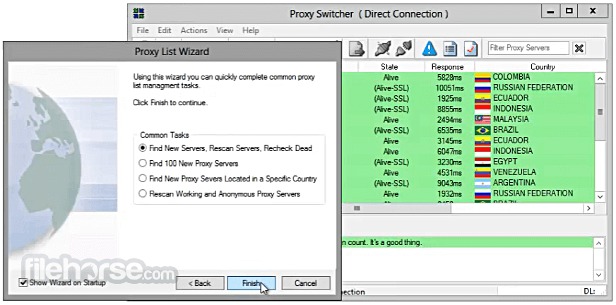Proxy Switcher Standard 6.4.0 Build 7666 Screenshot 3