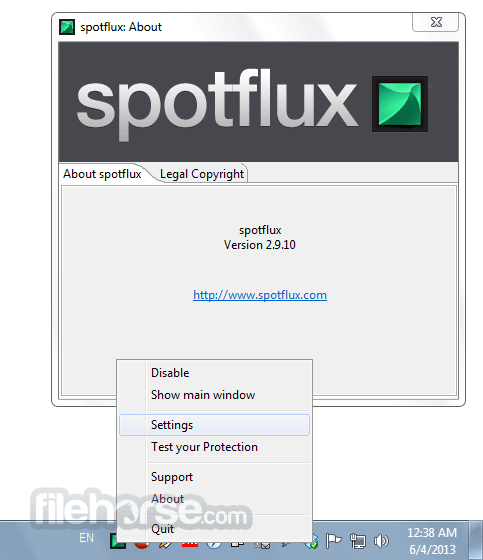 Spotflux 3.2.0 Screenshot 4
