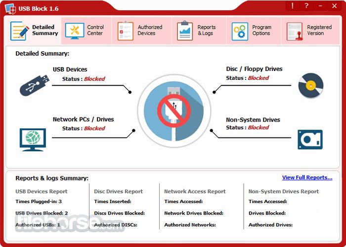 USB Block 1.7.2 Screenshot 1
