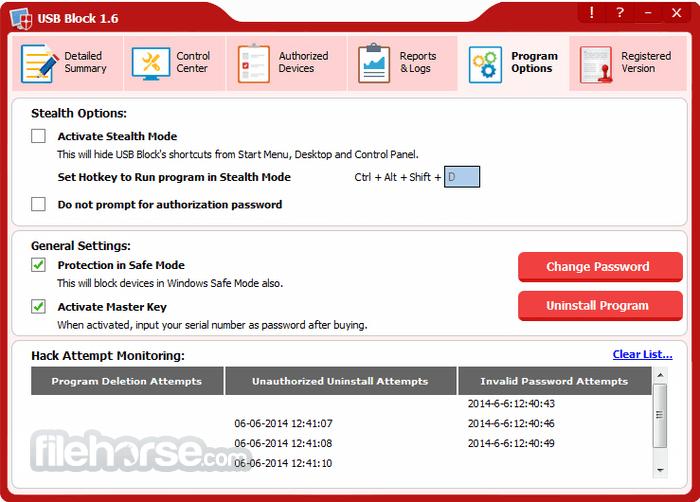 USB Block 1.7.2 Screenshot 5