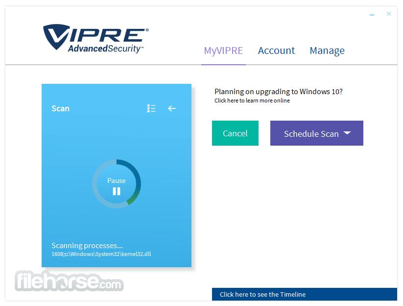 VIPRE Advanced Security 10.1.4.33 Captura de Pantalla 2