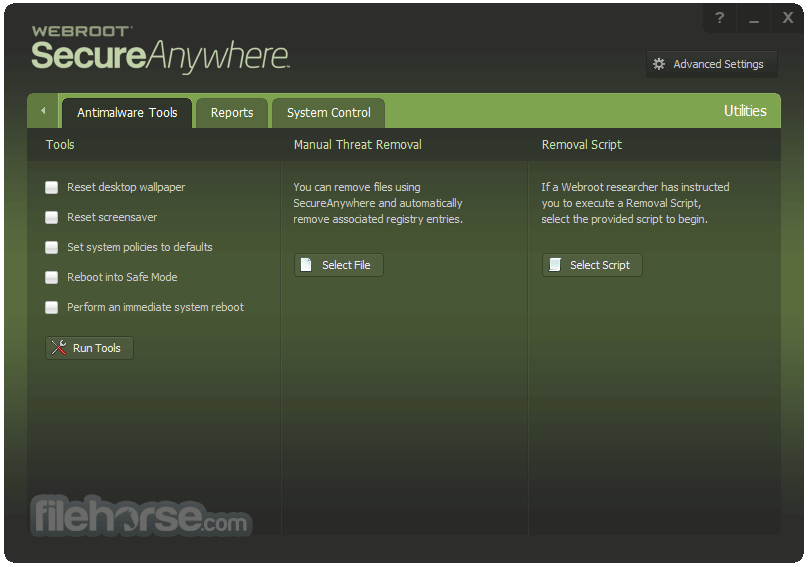 Webroot SecureAnywhere Internet Security Plus 9.0.20.31 Screenshot 3