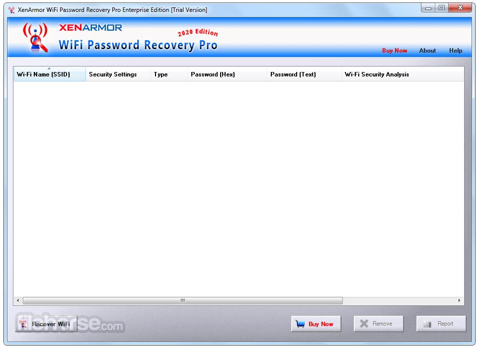 WiFi Password Recovery Pro 5.0.0.0 Screenshot 1