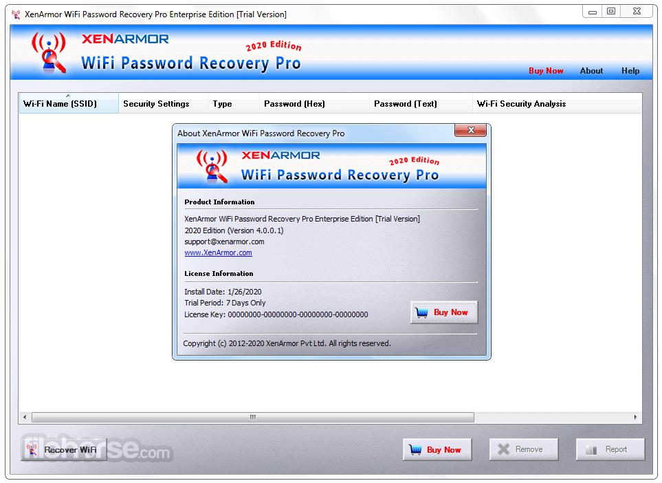 WiFi Password Recovery Pro 5.0.0.0 Screenshot 2