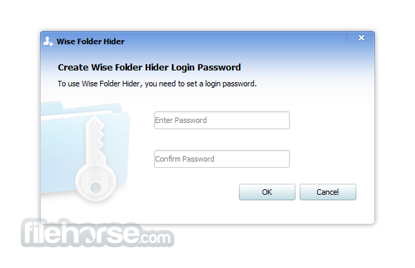 Wise Folder Hider 4.3.9 Captura de Pantalla 1