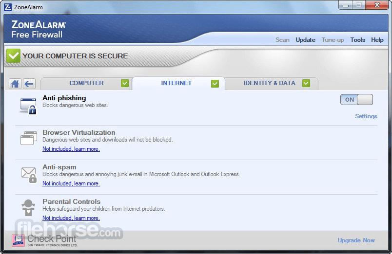 Free download ZoneAlarm Internet Security Suite 2012 ZoneAlarm