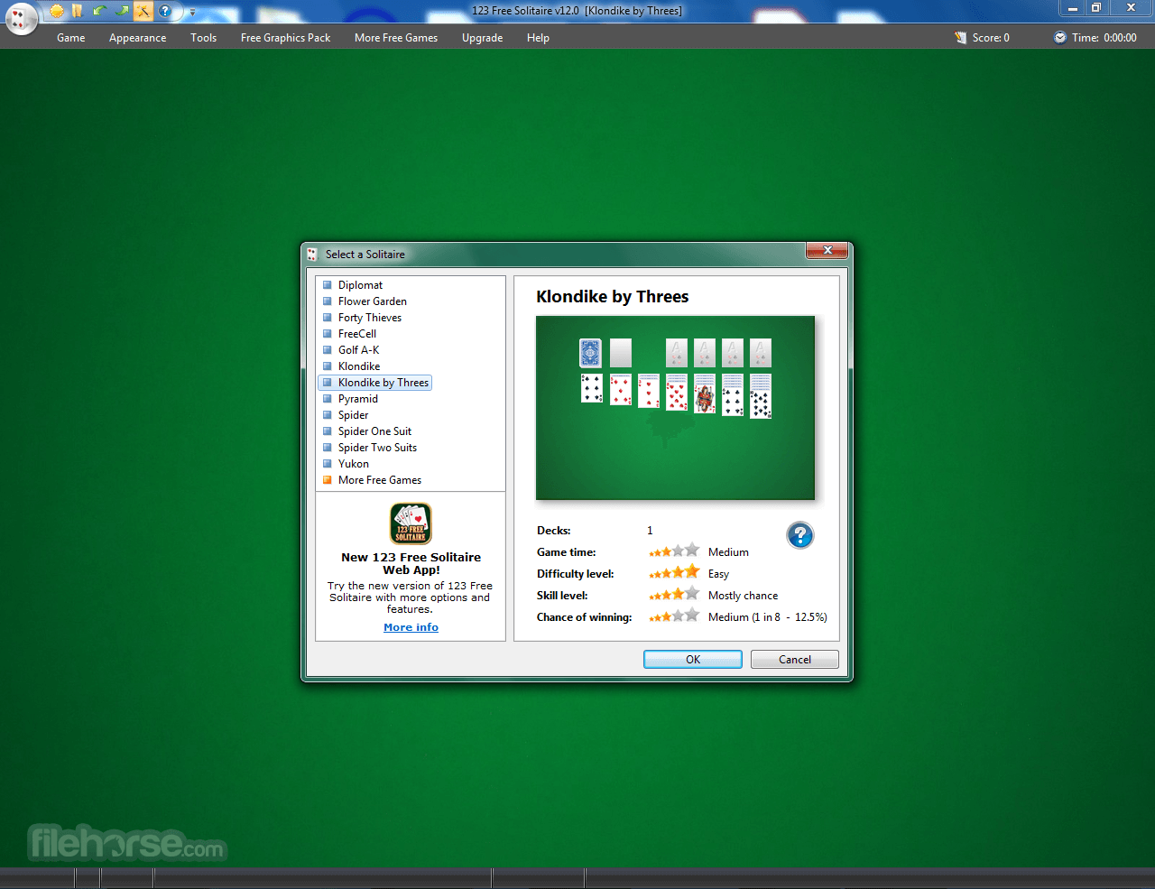 Download  123 Free Solitaire for Windows free 2021