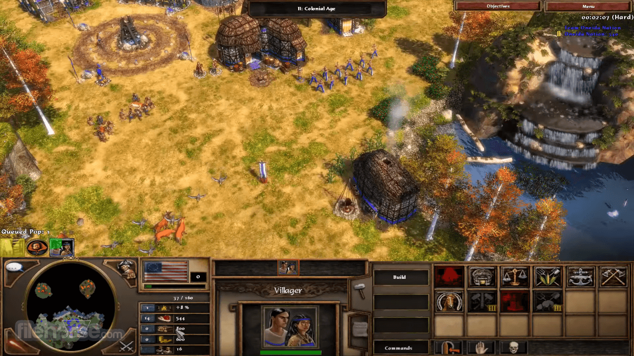 Age of Empires III: The WarChiefs Screenshot 1