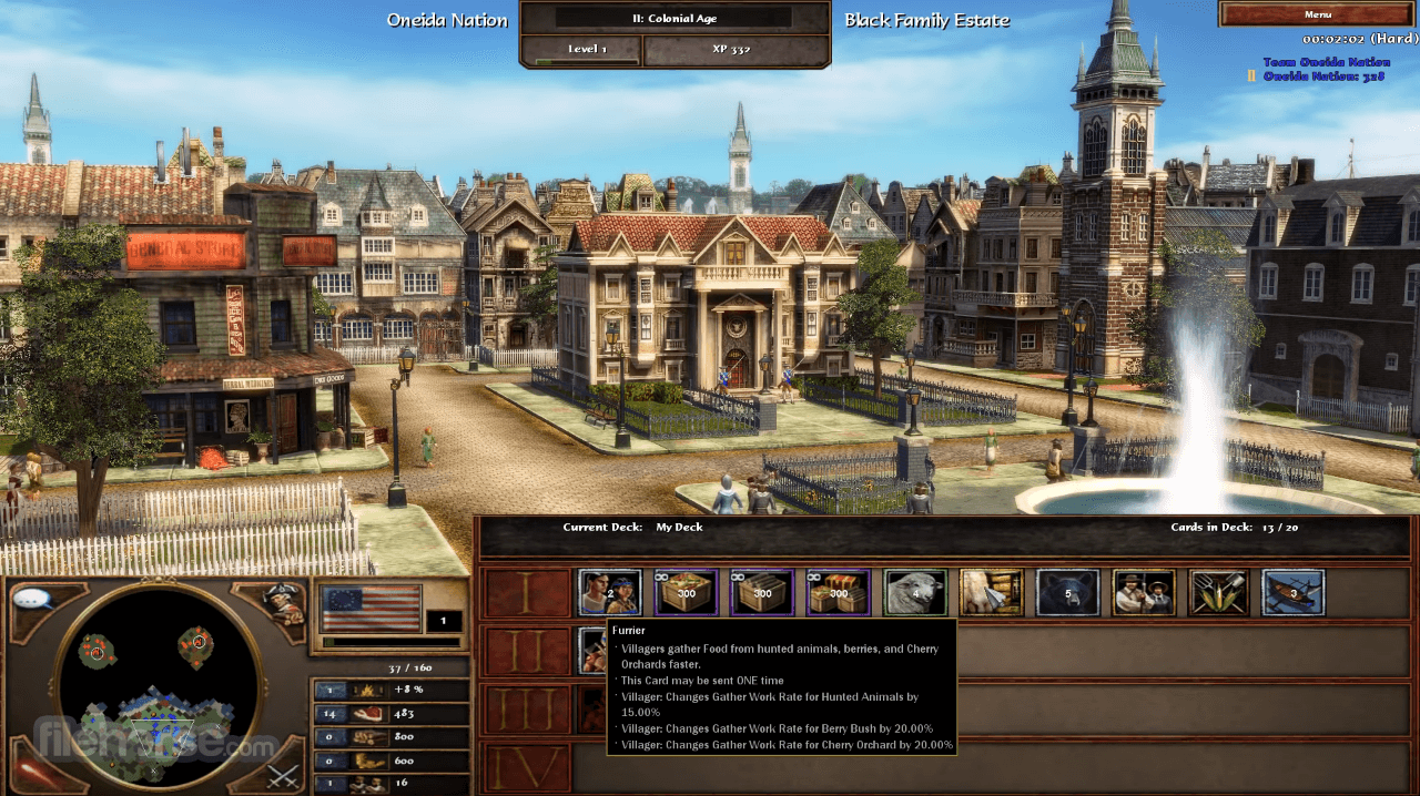 Age of Empires III: The WarChiefs Screenshot 2