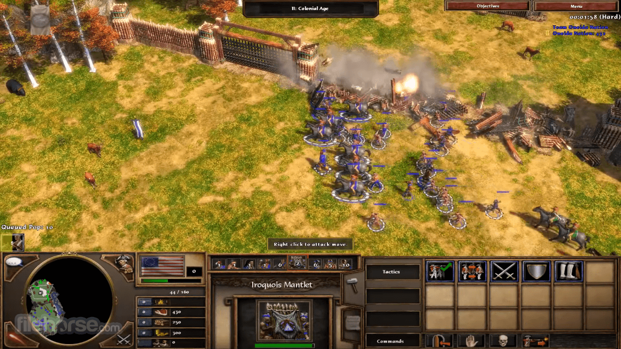 Age of Empires III: The WarChiefs Screenshot 3