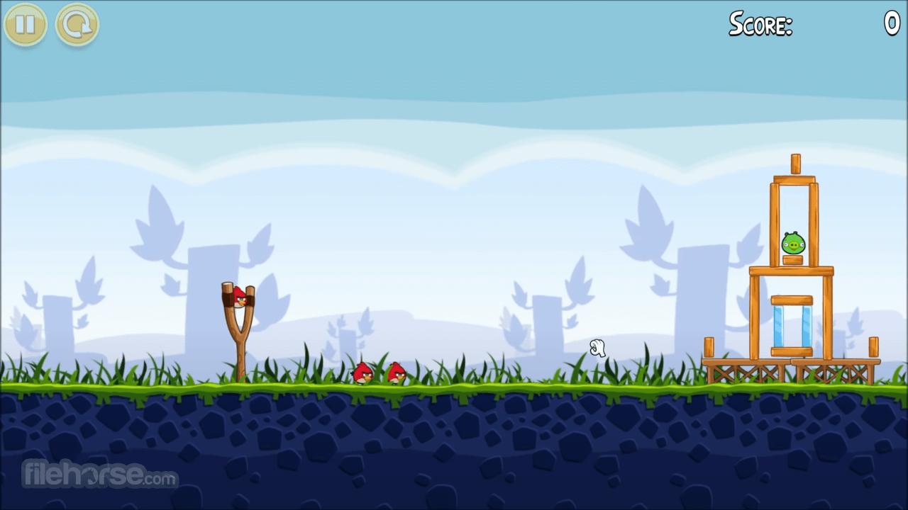 Angry Birds 4.0 Screenshot 2