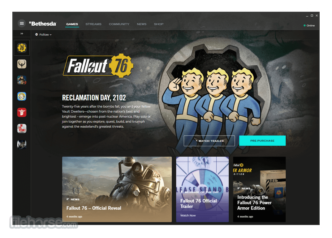 Download  Bethesda Launcher for Windows free 2021