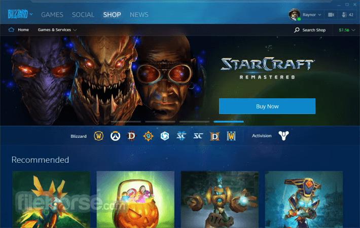 Blizzard Battle.net Desktop Captura de Pantalla 3