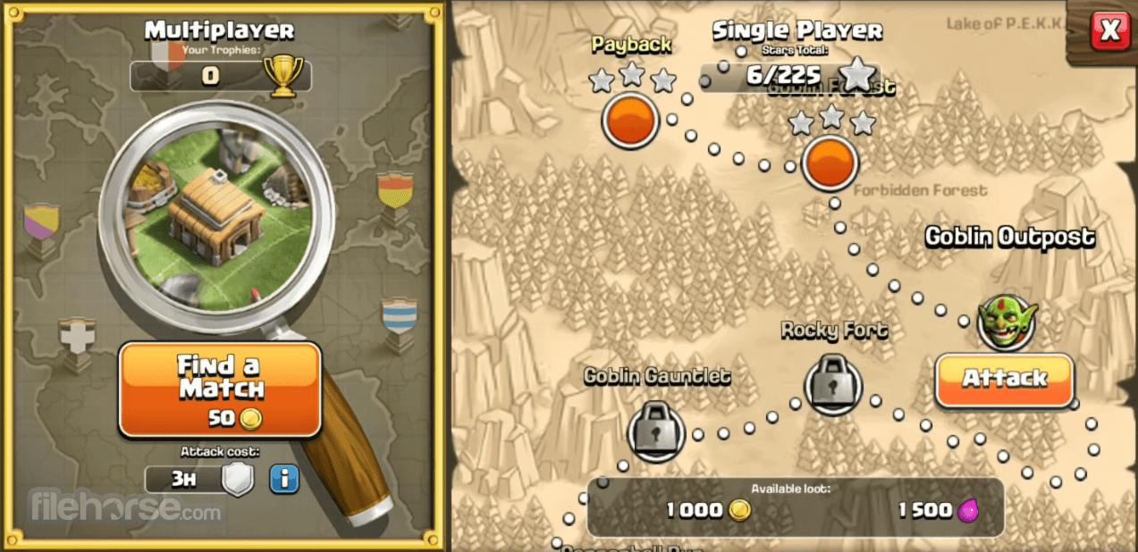 descargar clash of clans para pc windows 7