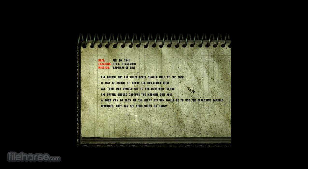 Commandos: Behind Enemy Lines Screenshot 4