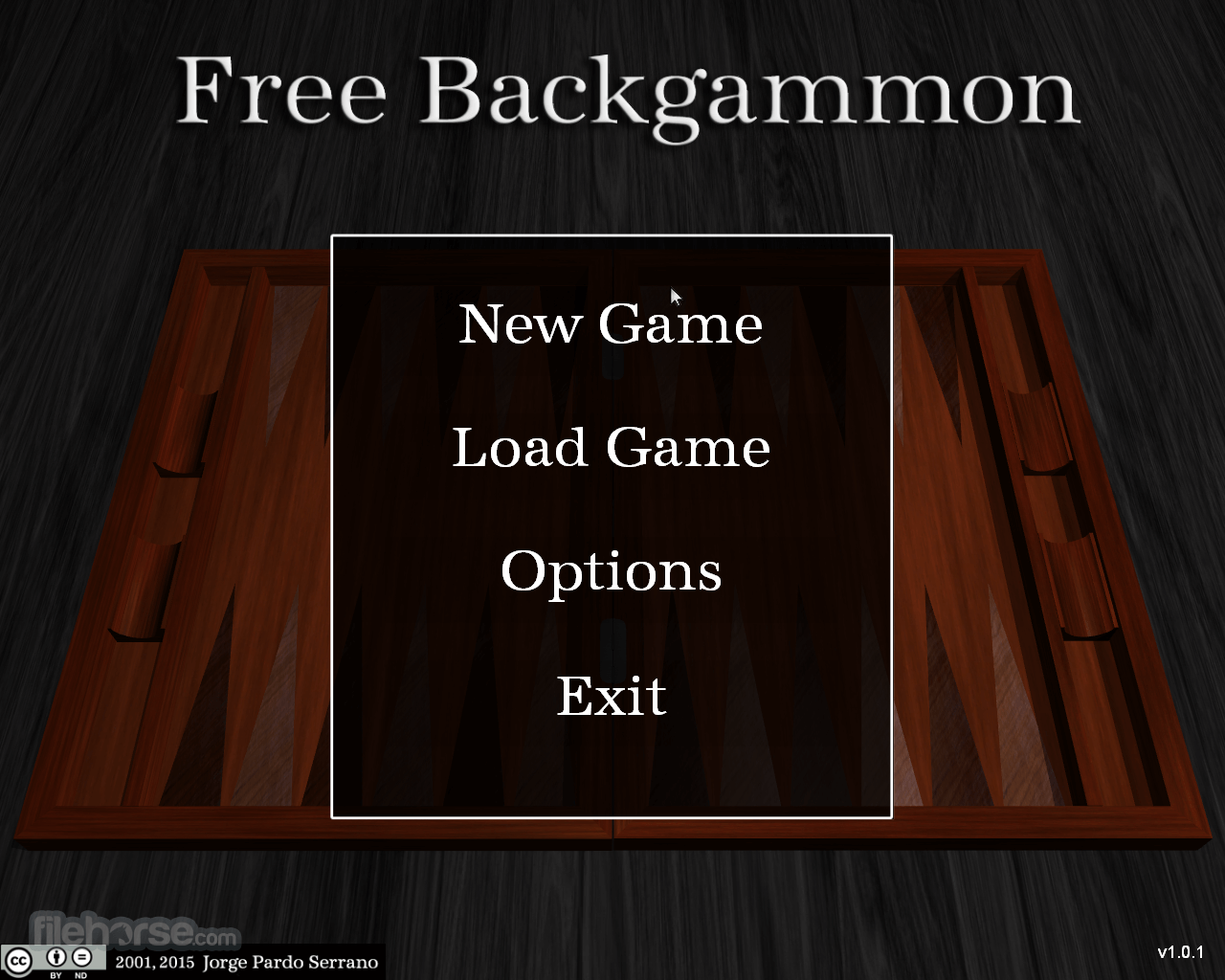 Free Backgammon 1.0.1 Screenshot 1