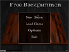 Free Backgammon 1.0.1 Screenshot 1