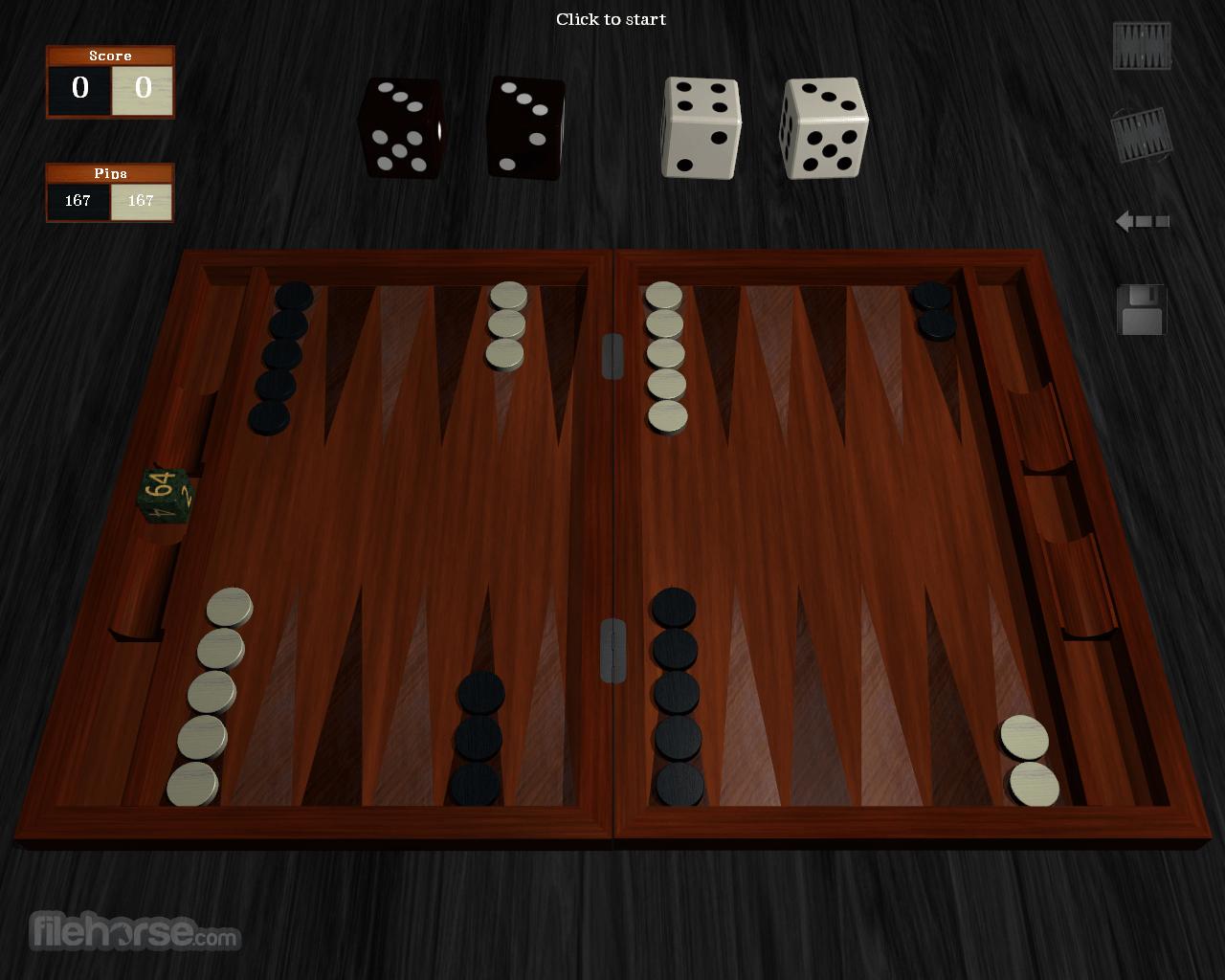 Free Backgammon 1.0.1 Screenshot 3