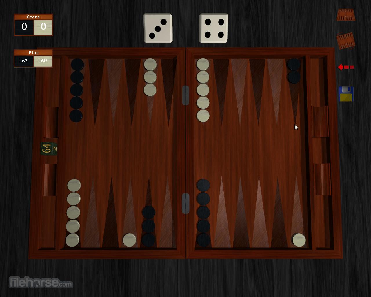 Free Backgammon 1.0.1 Screenshot 4