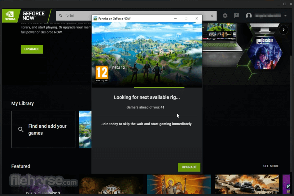 GeForce NOW 2.0.29 Screenshot 3