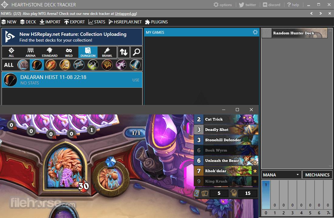 Hearthstone Deck Tracker 1.12.13 Screenshot 1